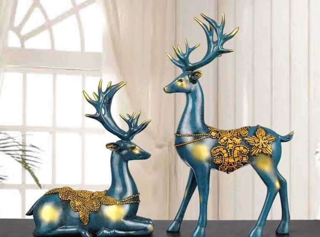 Deer Statue Home Decor