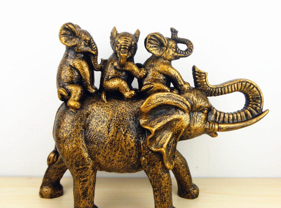 Elephant Family Home Decor