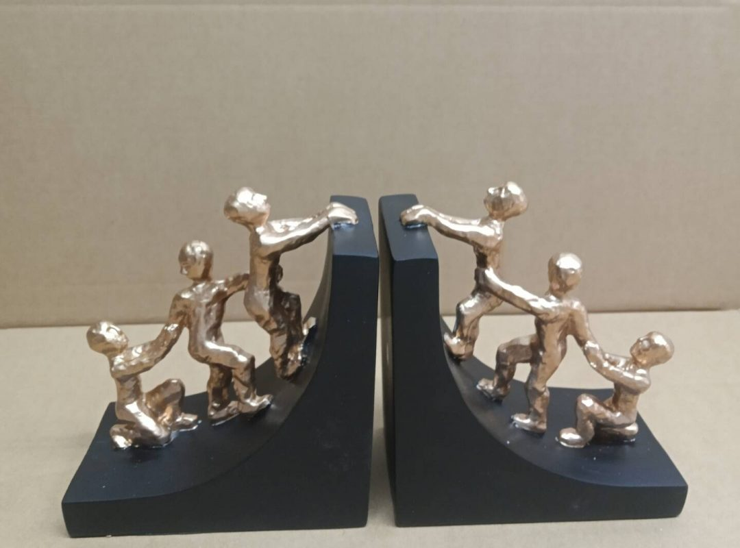 Sculpted Bookends