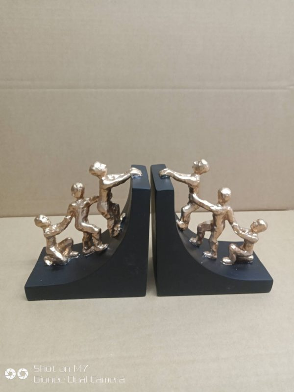 Sculpted Bookends   Living Space