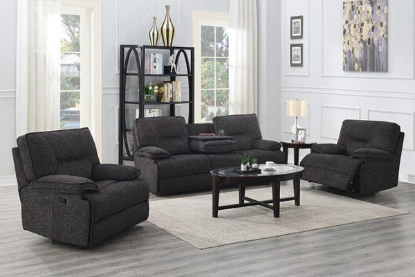 Alliston Recliner Lounge Suite - 3 piece | Living Space