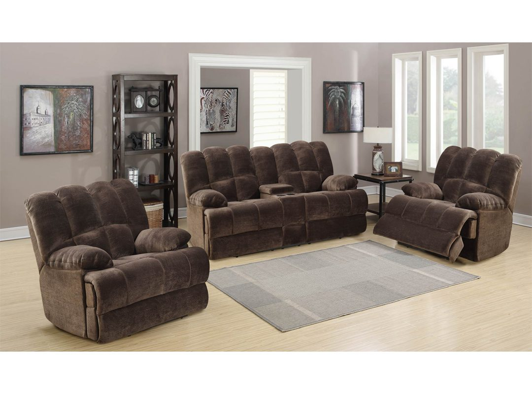 Bouffard 3-Piece Recliner Lounge Suite