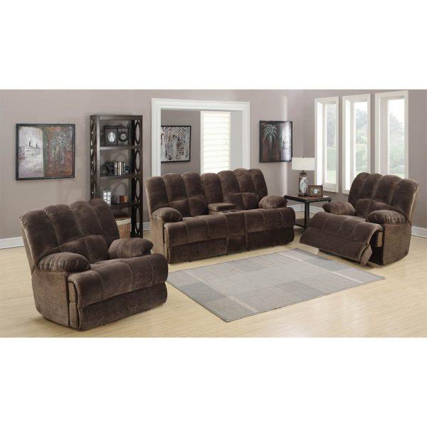 Bouffard 3-Piece Recliner Lounge Suite | Living Space