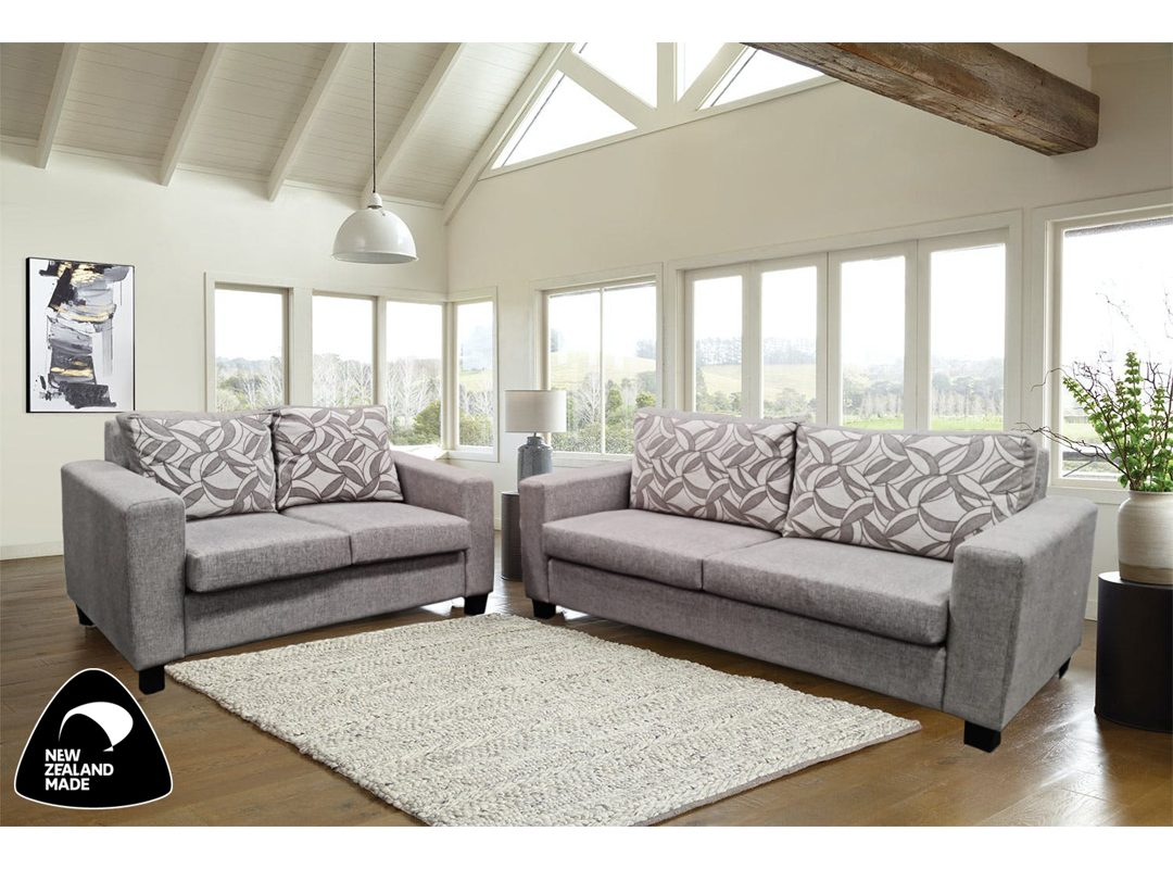 Connor Lounge Suite | 3 Seater + 2 Seater | NZ Made