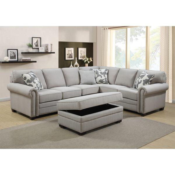 Fairmount Corner Lounge Suite | Living Space