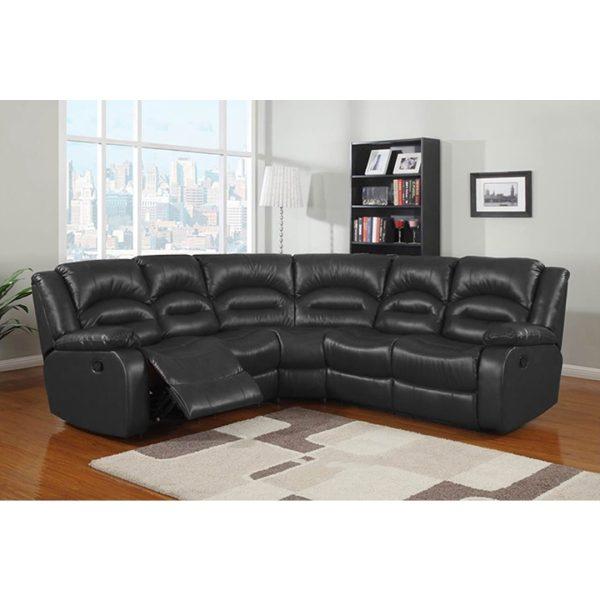 Lara Corner Sectional Recliner Lounge Suite | Living Space