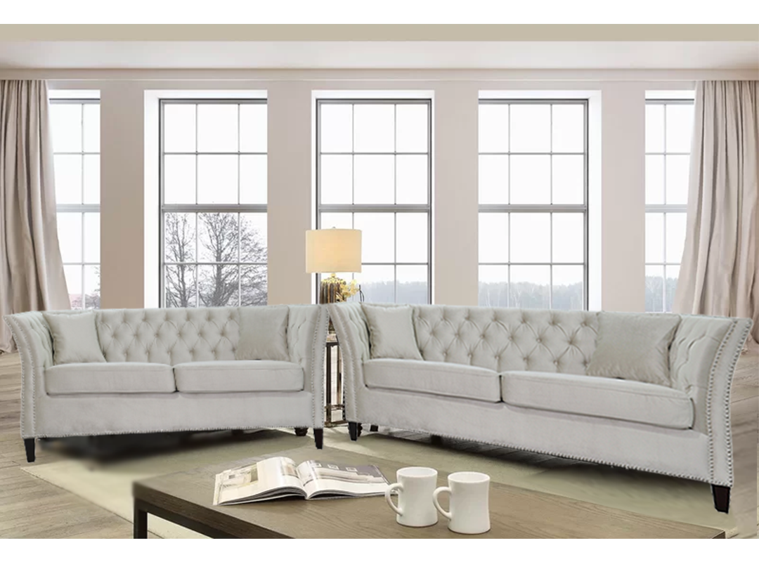 Woodell Fabric Lounge Suite