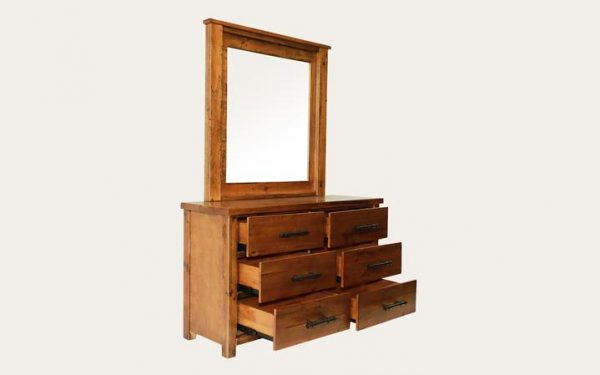 Macclesfield Dresser with Mirror | Living Space