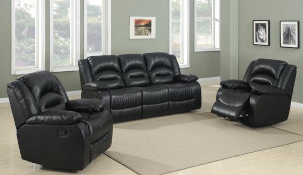 Lara 3-Piece Recliner Lounge Suite   Living Space