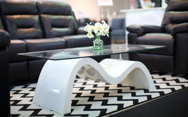 Myra Coffee Table | Living Space | White