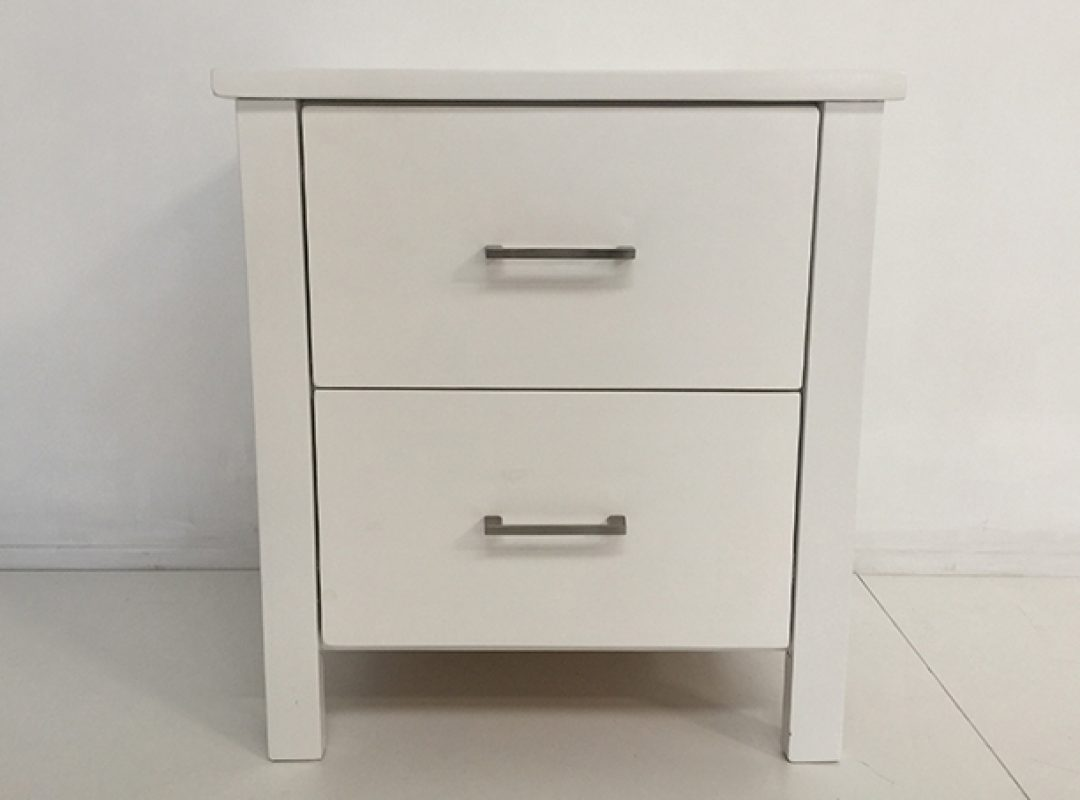 Britain 2 Drawer Bedside Table