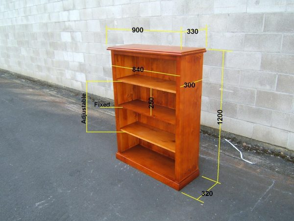 Emma Bookcase 4 Layer   Living Space