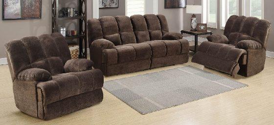 Bouffard recliner lounge suite (3rr+r+r)   Living Space