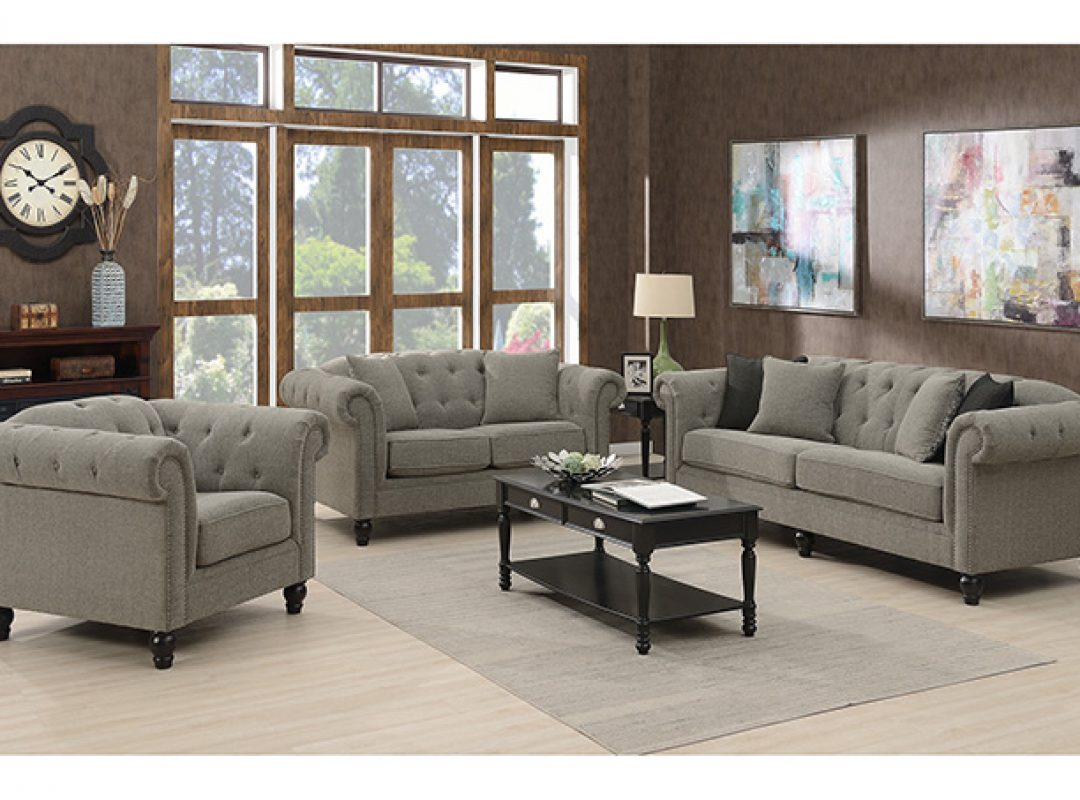 Darcy Fabric Lounge Suite | (3+2+1 Seater)