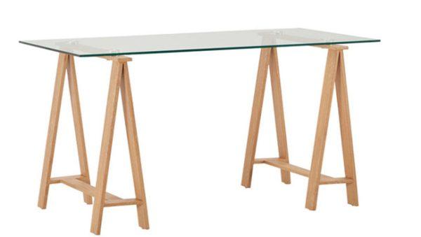 Ryan Glass Desk   Living Space