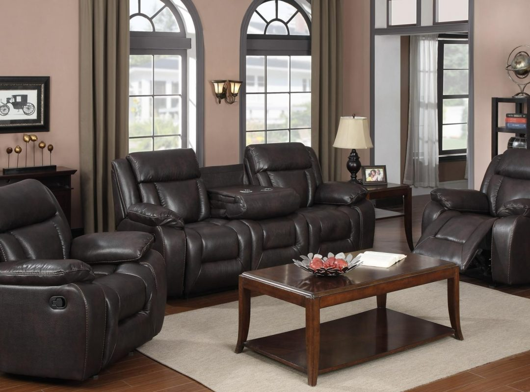 Haskell 3-Piece Recliner Lounge Suite