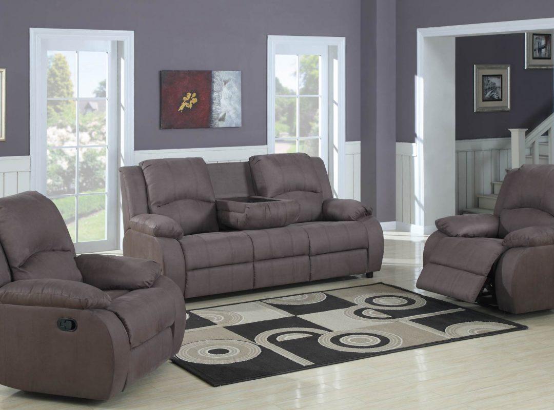 Preston Recliner Lounge Suite | (3+R+R)
