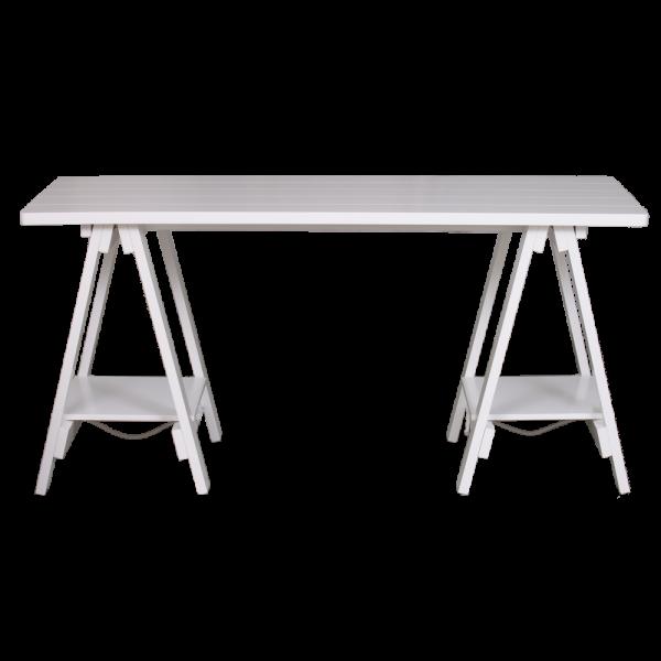 Teddy Desk White   Living Space