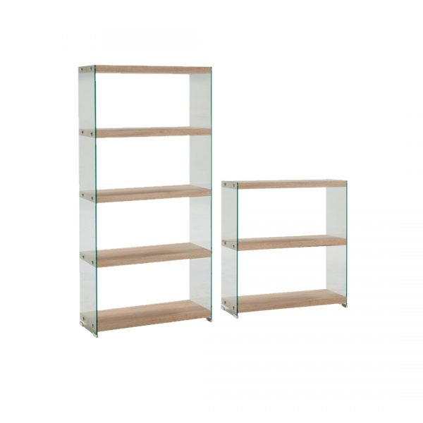 Jessie Glass Bookcase | Living Space