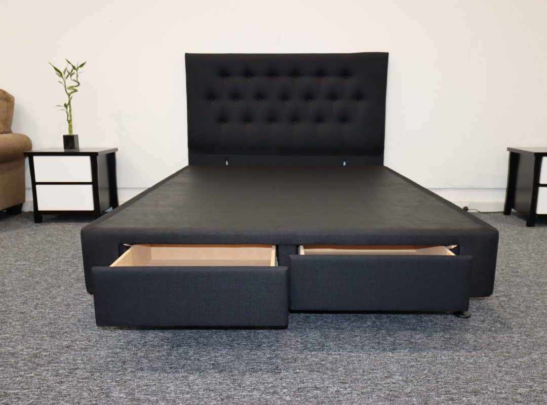 Bed Base | NZ Made | 2 Drawers